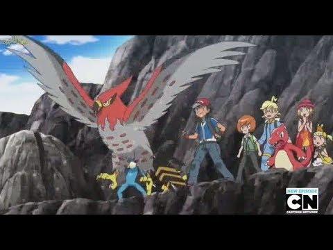 Pokémon - Moltres Vs Fletchinder (Que evolui para Talonflame)