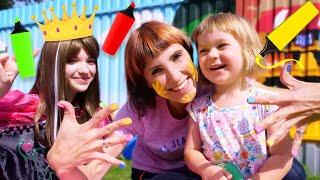 Бьянка играет в Салон красоты с Беби Бон Эмили, Машей Капуки и Принцессой - Привет, Бьянка!