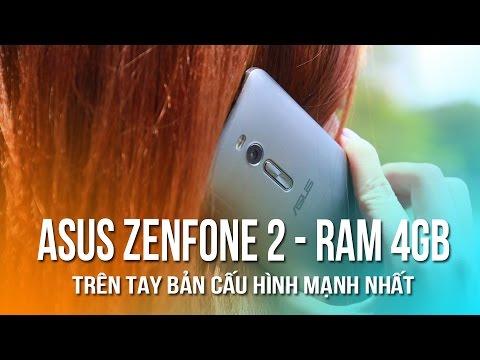 Asus Zenfone 2 - Ram 4Gb: Trên tay bản cấu hình cao nhất! - 동영상
