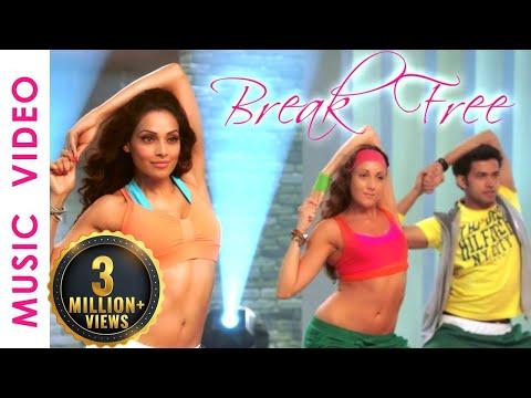 30 Mins Aerobic Dance Workout Music Video - Bipasha Basu Break free Full Routine
