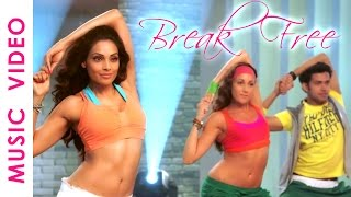 30 Mins Aerobic Dance Workout Music Video Bipasha Basu Break free Full Routine