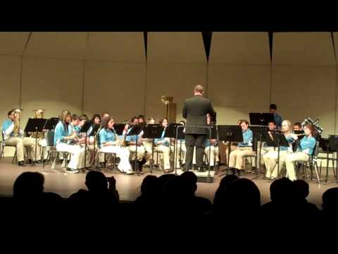 Canton Middle School Band 12 10 2009