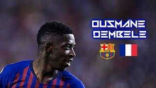Ousmane Dembèlè 2018-2019  - Crazy Start - Insane Dribbling Skills & Goals - FC Barcelona