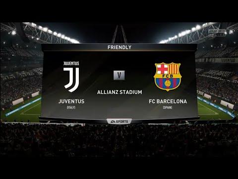 FIFA 18 | Friendly | Juventus v FC Barcelona | Allianz Stadium