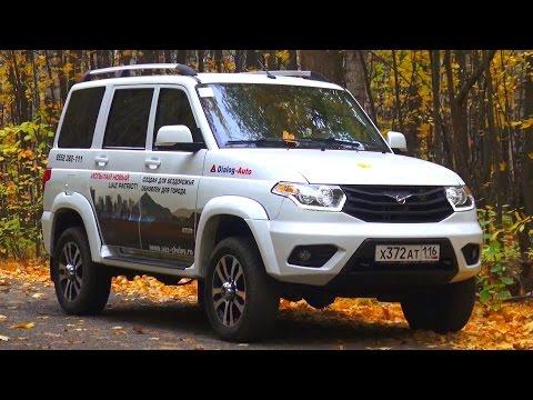 2016 UAZ Patriot Limited Test Drive