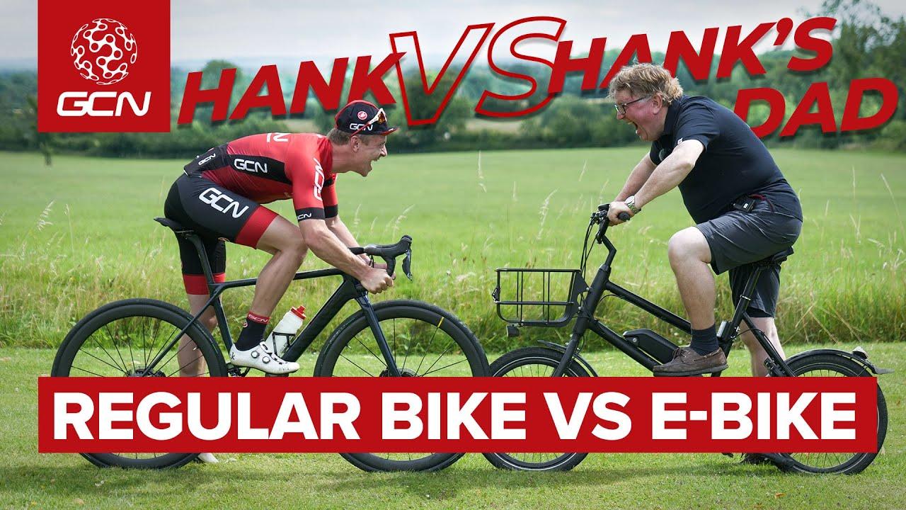 Pro Cyclist VS...His Dad!? | Road Bike Takes On E-Bike, But Who Is Faster?