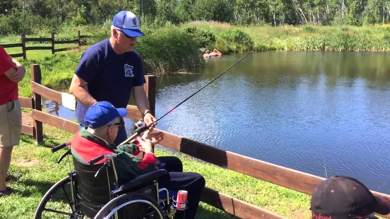 Vets Fishing Near Finland Minnesota Youtube
