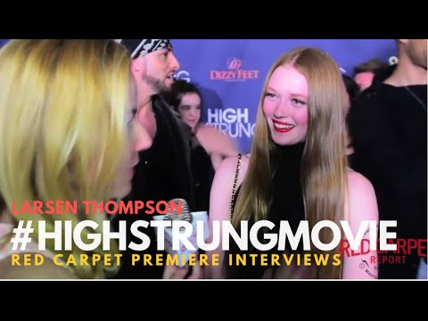 """Larsen Thompson at the Red Carpet Premiere for """"High Strung"""" #HighStrungMovie"""