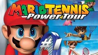UNE ACADÉMIE DE TENNIS ? - Mario Tennis Power Tour GBA #1 - Let's play FR