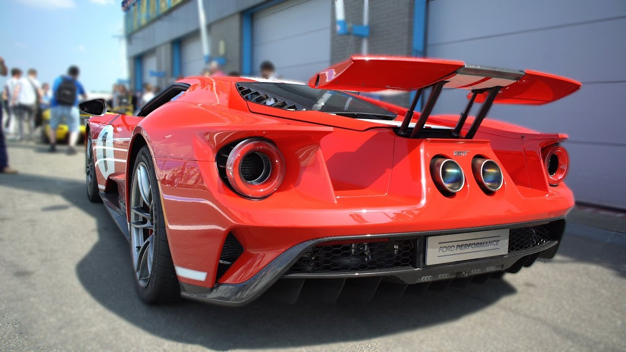 Ford Gt Heritage Edition W Akrapovic Exhaust System