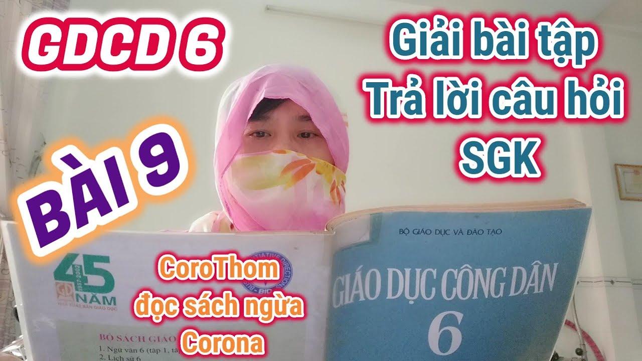 Giải bài tập SGK môn GDCD 6 – Bài 9. LỊCH SỰ, TẾ NHỊ (Giáo Dục Công Dân 6)