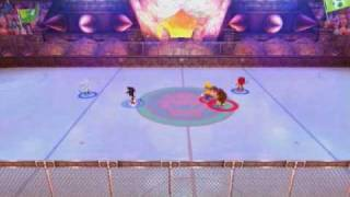 Gameplay - Mario & Sonic @ the Olympic Winter Games (Ice Hockey)