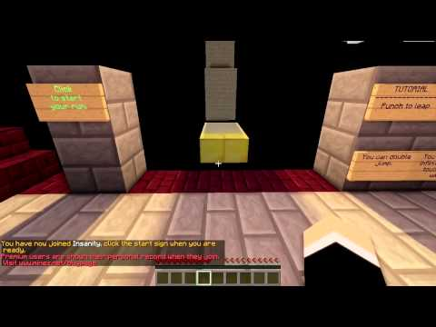 Minecraft: Death By Void! - Part 2 LAYING DOWN THE LAW! (Extreme Parkour)
