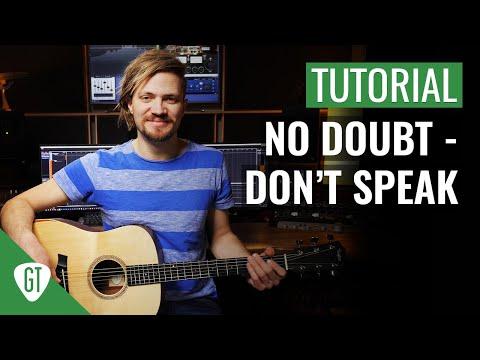 No Doubt - Don't Speak | Gitarren Tutorial Deutsch