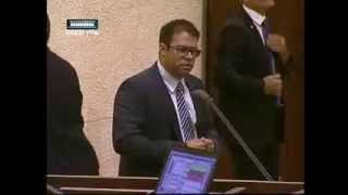 אורן חזן- נאום על ארגון שוברים שתיקה במליאת הכנסת