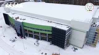 "Look at the ""Platinum Arena"" Ice Arena - 29th Winter Universiade 2019 - Krasnoyarsk"