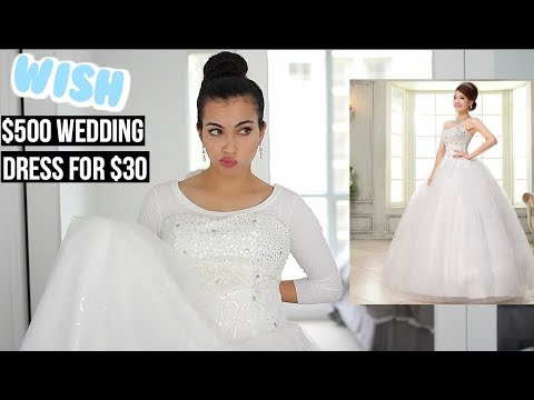 Bought Wedding Dress On Wish Original Price