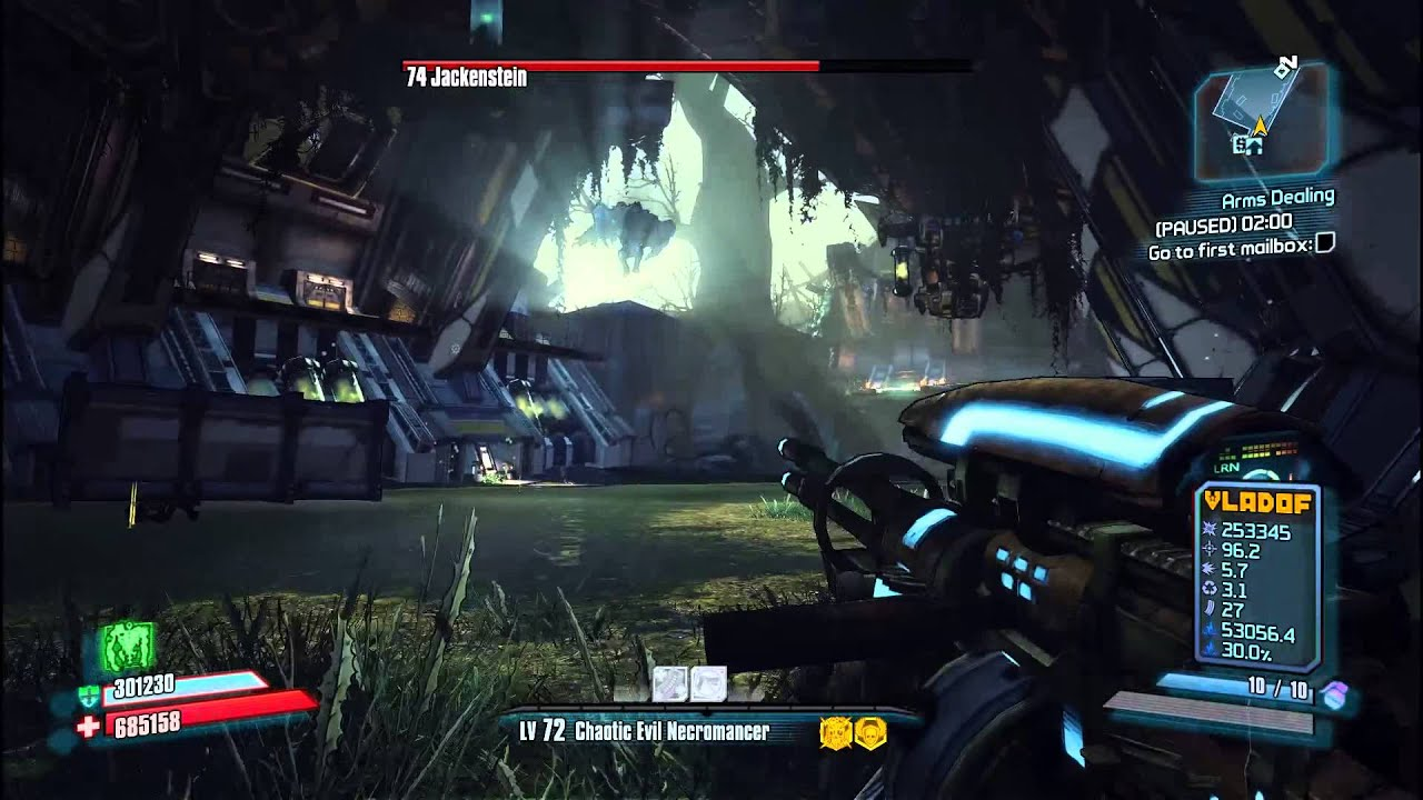 Borderlands 2 how to defeat jackenstein