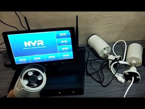 วิธี ติดตั้ง กล้องวงจรปิด Wireless IP NVR Kit  ง่ายกว่านี้ไมมีแง้ว