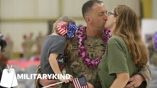 Watch dozens of emotional military reunions all at once | Militarykind