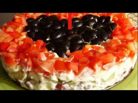 Вкусный салат из помидоров со сметанной заправкой / рецепт легкого салата из овощей [Patee. Рецепты]из YouTube · Длительность: 1 мин41 с