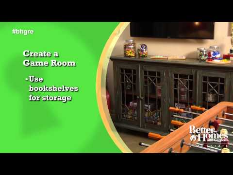 Create Your Own Game Room
