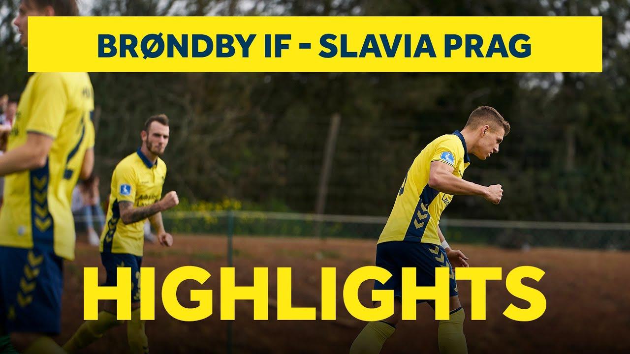 Брондбю  2-0  Славия Прага видео