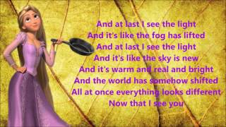 Ty Nightcore - I See The light (Tangled)(Mandy Moore) [Lyric Video]
