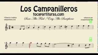 Los Campanilleros Easy Sheet Music for Alto Saxophone