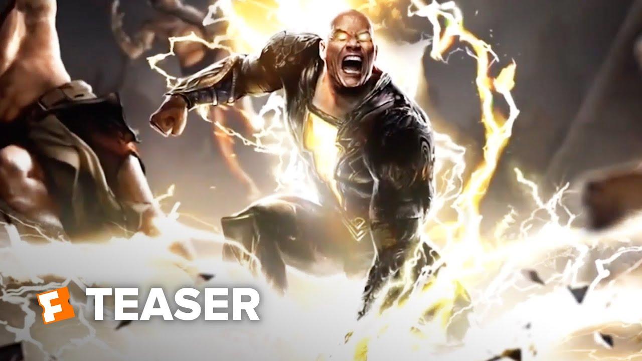 Download Black Adam Teaser Trailer (2021) | Movieclips Trailers