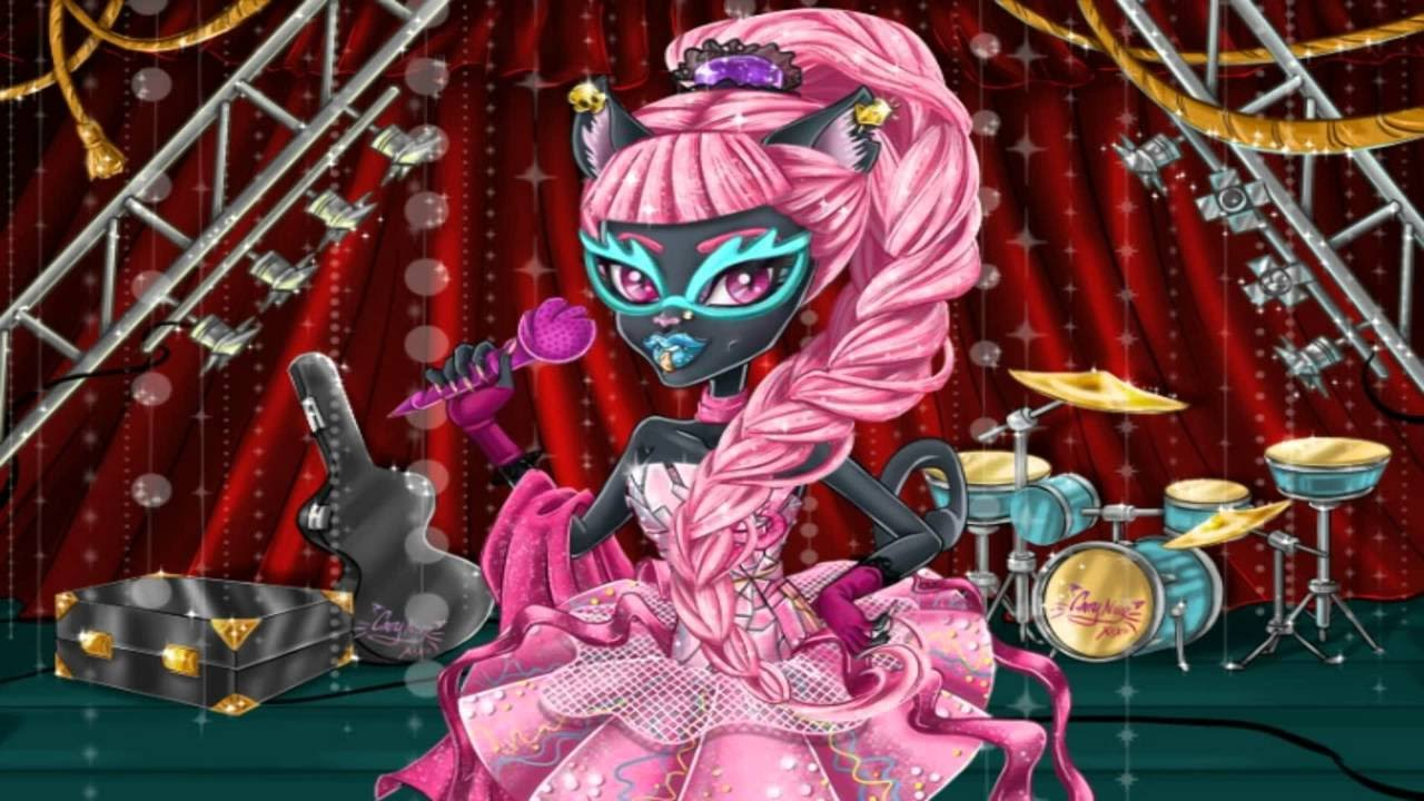 Monster High Games Catty Noir Hairstyles Fun And Crazy