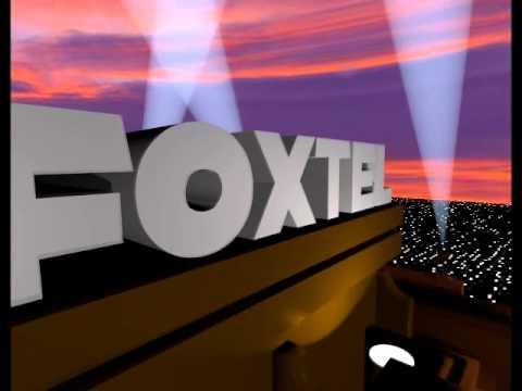 Foxtel old logo Blender remake
