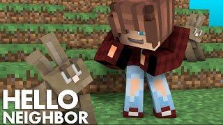 Minecraft Hello Neighbor - Saving The Magic Bunnies (Minecraft Roleplay)