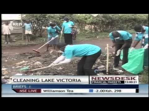 Efforts to clean up Lake Victoria paying off