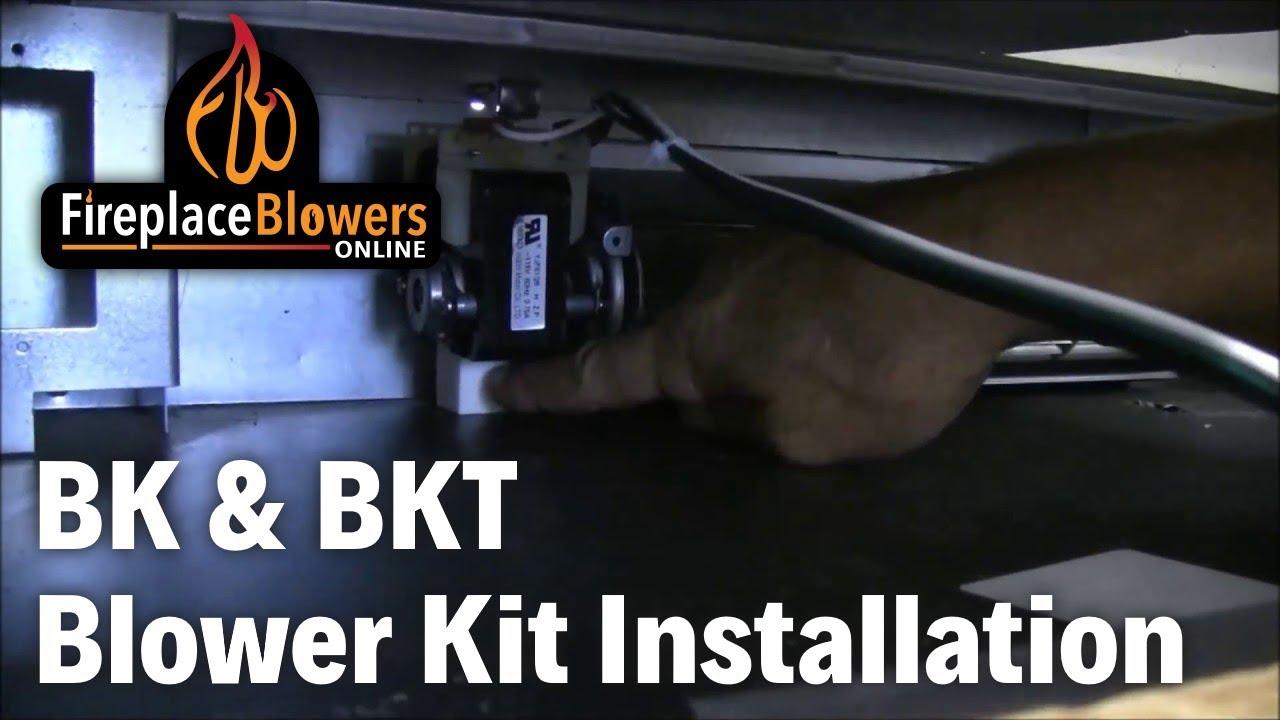 bk bkt blower kit installation youtube