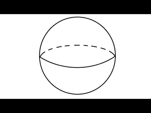 Volume of a ball in n dimensions