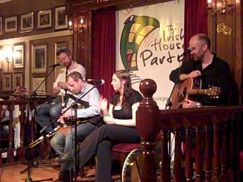 uilleann piper at irish house party 5/28/11