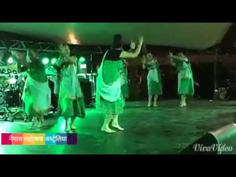 rajbanshi dance in australia organization NRNA aus