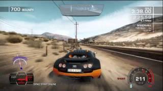 Need for Speed: Hot Pursuit Super Sports Pack DLC - Bugatti Veyron Super Sport Gauntlet (...failing)