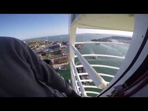 Abseiling the Emirates Spinnaker Tower