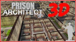 Prison Architect - СЕКРЕТНЫЙ 3D РЕЖИМ-ПАСХАЛКА!!!