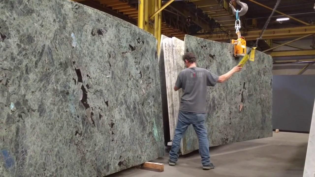 Moving Granite Slabs Youtube