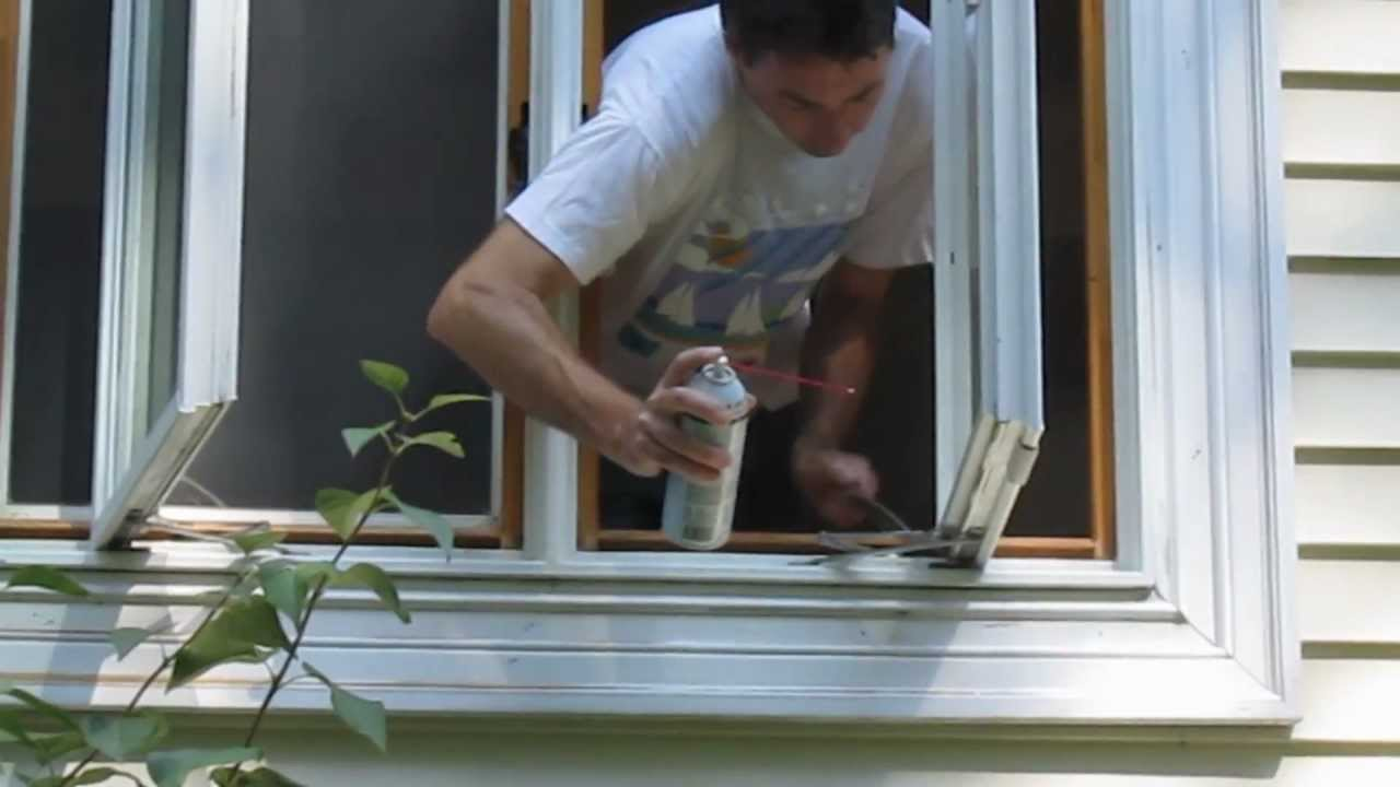 Casement Window Maintenance Youtube