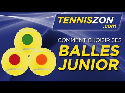 Choisir vos Balles Junior