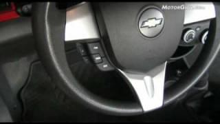 Chevrolet Spark, an?lisis de interiores