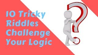 10 Tricky Riddles with Answers | Riddle Solver