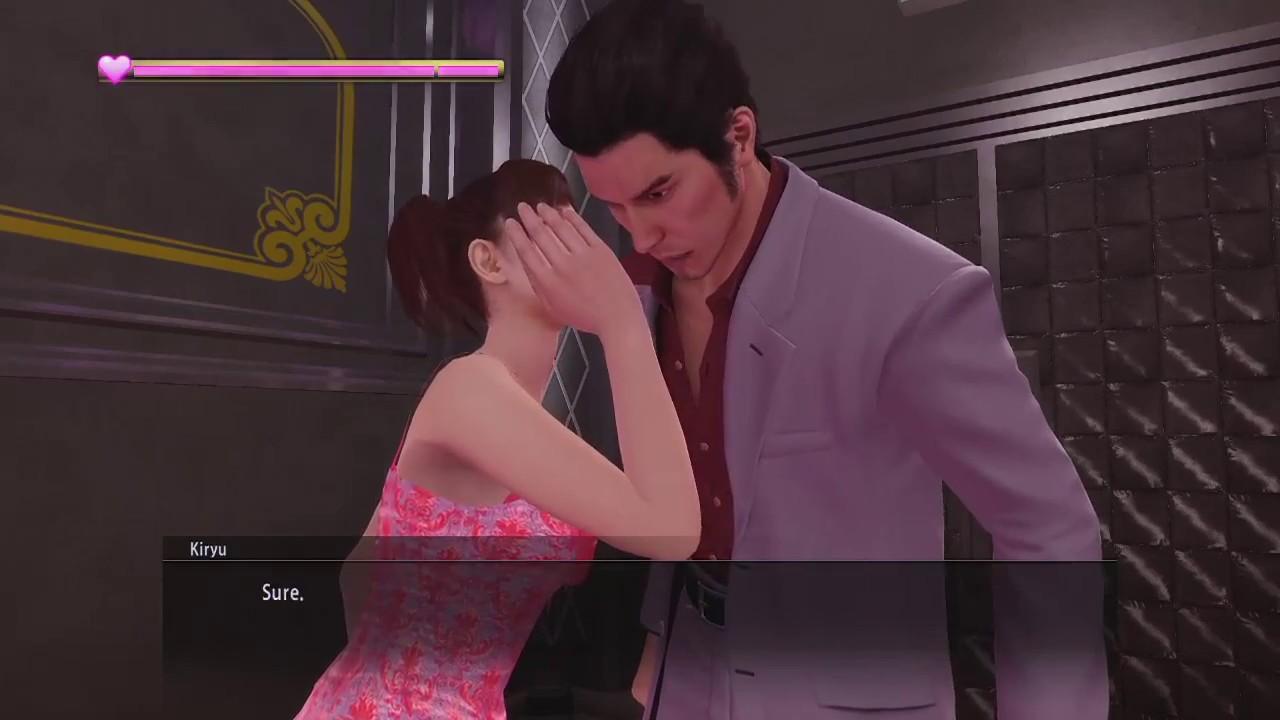 Yakuza kiwami dating rina