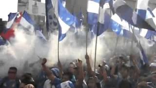 Azules rumbo al estadio AZUL!!!!
