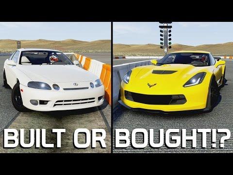 BUILT OR BOUGHT!? || 2015 Corvette Z06 VS 1997 SC300 || Forza 6