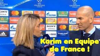 Zidane très joyeux après Real-Bayern sort de grosses déclarations !